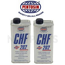 For 2 Liters Power Steering/Hydraulic Pump Fluid CHF 202 Synthetic Pentosin