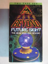 FROM BEYOND FUTURE SIGHT THE YEAR 2000 AND BEYOND 2 TAPE SET 1997 VHS VIDEO OOP