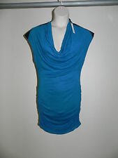 Buffalo David Bitton Dress Teal Aloe Large Womens Viscose NWT $79