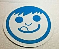 "NEFF, SKATEBOARD, SNOWBOARD, Cool, Sticker, LARGE 4"", White & Blue"