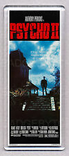 PSYCHO II (2) movie poster 'WIDE' FRIDGE MAGNET  - 80's Horrror Classic!