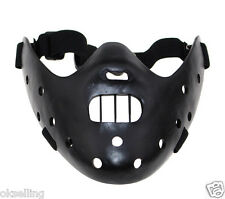 new Silence of the Lambs Hannibal Lecter Mask half face Halloween costume party