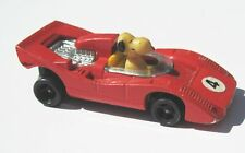 Aviva Toy Snoopy Diecast Racing Car Red Small 1972 Hong Kong Great Condition