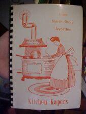 Kitchen Kapers North Shore Jaycettes Cookbook WI