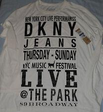 T-SHIRT DKNY JEANS XL MANICHE LUNGHE  NUOVA CON CARTELLINO