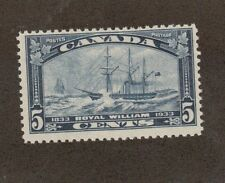 Canada  Scott 204 - Steamship Royal William 5  Cent. MNH. OG.   #02 CAN204
