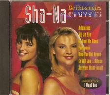 SHA-NA - Hit-Singles (REMIXES) CD Album Eurodance 1994 RARE!!