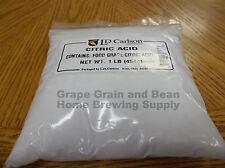 Citric Acid, 1lb Citric Acid, Wine Making Food Grade Citric Acid