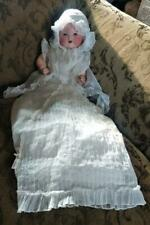 Armand Marseille  Bisque Headed Dream Baby Boy Doll in Singer Company Clothing