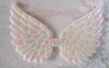 Fabric Angel wings Fairy wings varied colours applique pack of 5