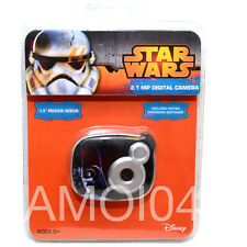 Star Wars Kids 2.1MP Digital Camera with 1.5 inch Preview Screen New