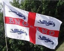 England 4 Lions flag. Flags.5 x 3. St George. Euro Championships .World Cup 2018
