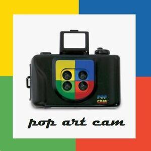 Ultrafine POP ART ACTION 35mm Film Camera 4 Color Shots on each Frame Lomo Holga