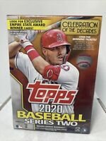 2020 Topps Baseball Series 2 Blaster Box COIN Medallion Pack Trout? AUTOS?  New!