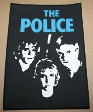 The Police, Band, small printed Backpatch, Vintage 70's / 80's, rar, rare