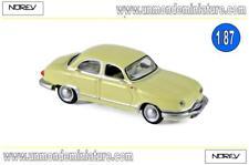 Panhard Dyna Z12 1957 Jonquille NOREV - NO 451896 - Echelle 1/87 NEWS