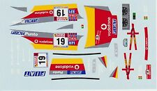 FIAT PUNTO KIT CAR  FORTES-SILVA RALLY MADEIRA DECALS 1/43
