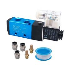 Solenoid Valve Pneumatic Control 5 Way 2 Position Single Coil Pilot Operated