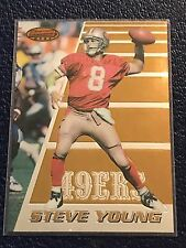 STEVE YOUNG 49ers HOF  1996 Bowmans Best #5  NM-MT w/Top Loader!
