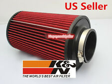 "K&N UNIVERSAL Car Truck Racing 3"" INCH KN Cold Air INTAKE FILTER KIT"