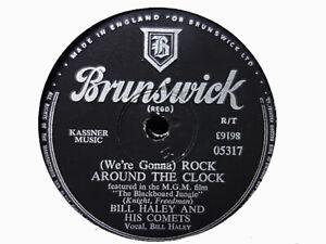 BILL HALEY - Rock Around The Clock / Thirteen Women 78 rpm disc