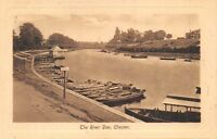 CHESTER UK~RIVER DEE PHOTO POSTCARD