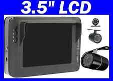 "3.5"" LCD monitor Wireless Rearview Backup Car RV Camera design for 5th wheel &RV"