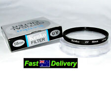 58mm Kenko UV Lens Filter for Canon Ef-s 18-55mm and EF 28-90mm Lenses