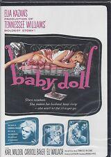 BABY DOLL Karl Malden Carroll Baker Eli Wallach Tennessee Williams Play NEW DVD