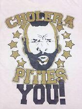 Cholera Pities You Mr. T CD Release Party White T-shirt  Progressive Deathmetal