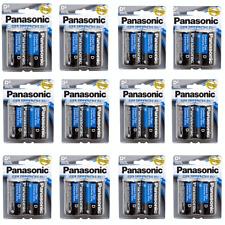 24 Wholesale D Panasonic Battery Batteries super heavy duty Bulk Lot 12Pk x 2Pcs