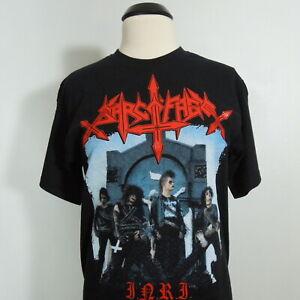 - SARCOFAGO I.N.R.I. T-Shirt Black Men's size L Gildan (NEW) NWOT