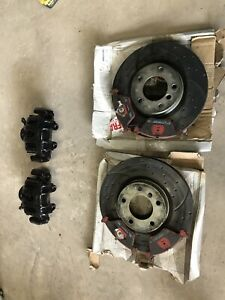 Genuine Bmw E36 M3 Front Brake Calipers, Discs And Ceramic Pads