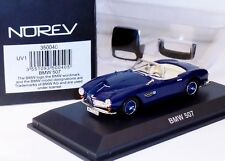 BMW 507 BLUE WITH HARD TOP NOREV 350040 1/43