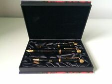 MONTBLANC WRITERS LIMITED EDITION - 1995 VOLTAIRE SET FP, BP & P *** NEW ***