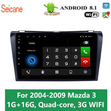 Android 8.1 wifi Car Multimedia Player For 2004 2005 2006 2007 2008 2009 Mazda 3