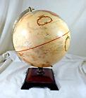 "Replogle 12"" Diameter Antique look Globe World Classic Series w/ Wooden Base"