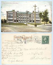 State Normal School Salem Massachusetts dated 1915 Postcard - Architecture