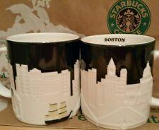 Starbucks Coffee City Mug/Tasse/Becher BOSTON, Relief Serie,NEU&unbenutzt m.SKU!