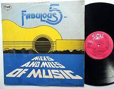 FABULOUS FIVE INC Miles And Miles Of Music LP Reggae  C