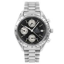 Omega Speedmaster Black Stick Dial Steel Automatic Mens Watch 3511.50.00