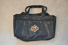 MLB Orioles leather travel duffle bag