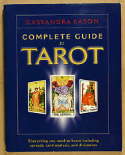 Complete Guide to Tarot by Cassandra Eason PB'99 VG Qld Copy Qikpost