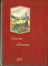 CONTES D' EUROPE LIVRE DE PRIX 1963