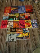 JONATHAN KELLERMAN lot of 18 novels