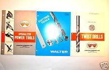 WALTER  POWER TOOLS , Twist Drills and cutting Tools CATALOG  #RR420