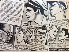 a1o ephemera 1949 film item hildy parks george matthews tyrone power mr roberts