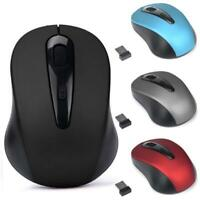 2.4GHz Wireless Mouse USB Optical Scroll Mice for Tablet Laptop Computer Finest