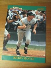 1993 Score The Franchise # 2 Mickey Mantle - New York Yankees Hall of Famer  ZB0