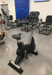 Life Fitness Integrity Series CLSC Upright Bike - Cleaned & Serviced